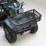 Front trunk on ATV