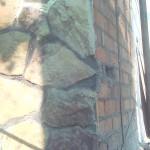Армирование при облицовке природным камнем
